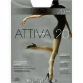 Тонкие прозрачные колготки omsa 20 ден  Attiva 20