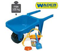 Тачка Детская с аксессуарами Wader 74810S