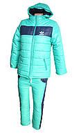Детский костюм тёплый унисекс 7 - 10 лет, фото 1