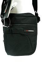 Мужская сумка через плечо, барсетка, Gabol, черная.