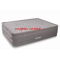 Кровать надувная Intex 67952 (102 х 203 х 46 см) с электро-насосом