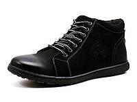 Зимние ботинки Doowood Fashion, мужские, черные, фото 1