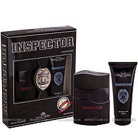 Lotus Valley - Набор INSPECTOR (EDT 100ml + Гель-душ 100ml) Pour homme