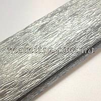 Креп-бумага, 50смх2м, цвет серебро