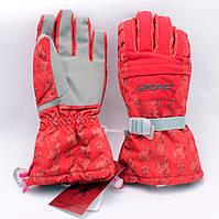 Перчатки горнолыжные женские Spyder зимние