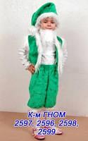 Дитячий новорічний костюм Гномика