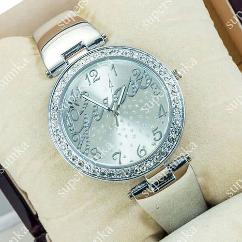 Повседневные наручные часы Guess Big crystal Silver/Silver 1116
