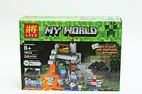 "Конструктор для мальчиков LELE 79043 ""My World"" - аналог ""Minecraft"" Майнкрафт LELE 79043 деталей 249 YNA /8-8"
