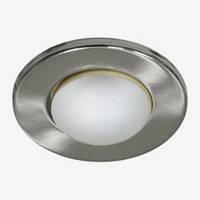 Светильник рефлекторный без стекла Feron R-63 титан/DL49