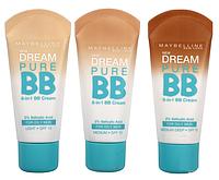 Тональный крем для проблемной кожи MAYBELLINE DREAM PURE BB CREAM 8-IN-1 ROM/6-1