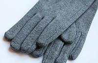Перчатки трикотажные без украшений и декора