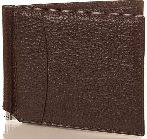 Модный мужской кожаный зажим для купюр CANPELLINI (КАНПЕЛЛИНИ) SHI070-10-FL
