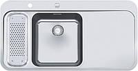 Кухонная мойка Franke SNX 261 (правое крыло) (полированная)