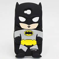 Резиновый 3D чехол для LG L70 D325 Бетмен
