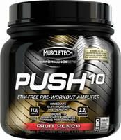 Muscletech®ПредтреникиMT Push 10 Pre-Workout, Performance Series, 500 gr