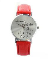 """Оригинальные женские часы  """"Who Cares"""""""