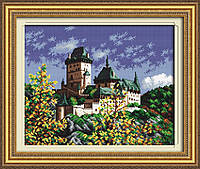 "Набор для вышивания нитками  ""Замок на холме"""