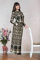 Красивое строговое длинное платье  размеры 46-48,48-50,50-52