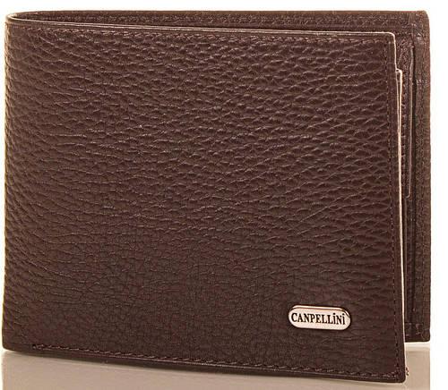 Брендовое кожаное портмоне для мужчин CANPELLINI (КАНПЕЛЛИНИ) SHI1042-10-FL