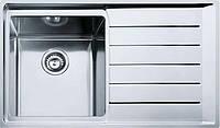 Кухонная мойка Franke NPX 611 (правое крыло) (полированная)