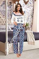 Женская пижама Shirly 5970 для беременных, домашний костюм с брюками цена со склада