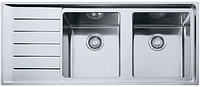 Кухонная мойка Franke NPX 621 (левое крыло) (полированная)