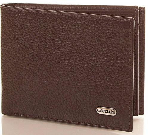 Стильное кожаное портмоне для мужчин CANPELLINI (КАНПЕЛЛИНИ) SHI1021-10-FL