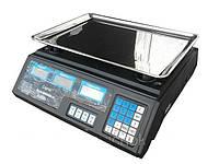 Весы электронные, торговые Спартак, Elite Lux с калькулятором, с наибольшим пределом взвешивания до 40 кг