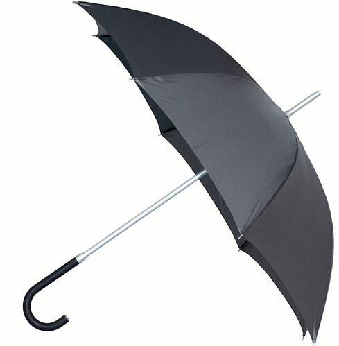 Мужской удобный механический зонт-трость EuroSCHIRM Kompliment W109, W109-XBL/KH011467 черный