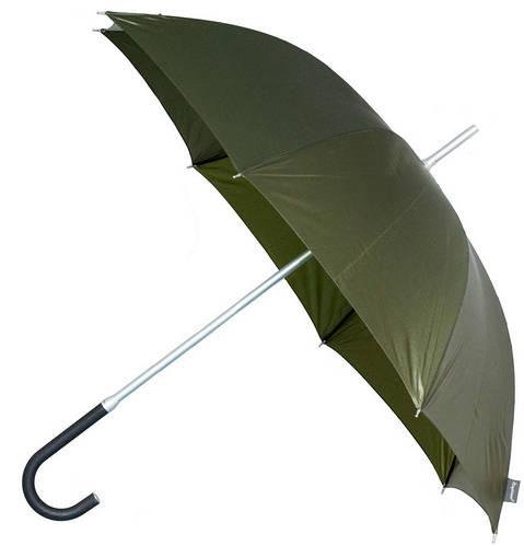 Оливковый механический зонт-трость EuroSCHIRM Kompliment W109, W109-KMI/KH1181
