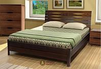 Кровать Мария двуспальная деревянная