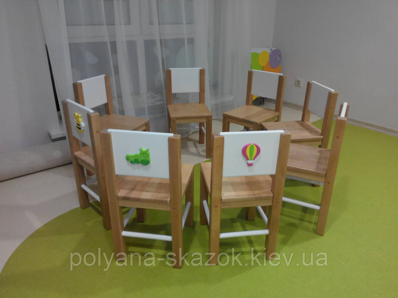"""Деревянный стульчик для детей """"курисо"""" киндермебель."""