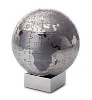 Пазл  Extravaganza - стальной глобус (d12см) 164шт P136019