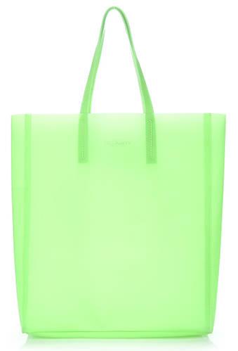 Яркая силиконовая сумка POOLPARTY Gossip city-gossip-green салатовая