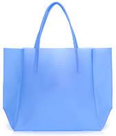 Стильная силиконовая сумка POOLPARTY Gossip soho-gossip-blue синяя