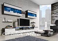 Мебельная стенка Cama I венге / белый глянец