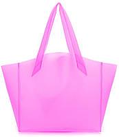 Яркая силиконовая сумка POOLPARTY Gossip fiore-gossip-pink розовая