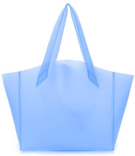 Силиконовая женская сумка POOLPARTY Gossip fiore-gossip-blue голубая