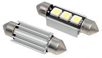 LED C5W CANBUS 36мм лампа с обманкой, 3 SMD
