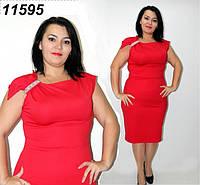 Нарядное платье с украшением - 48,50,52,54,56