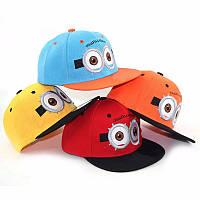 """Очень популярна в этом сезоне детская кепка """"Minions"""". Стильная бейсболка. Высокое качество. Код: КД58"""