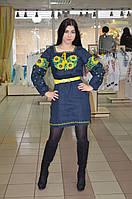 Платье вышиванка из льна
