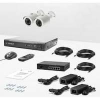 Комплект IP видеонаблюдения CnM Secure 2-IPC-poe 102W