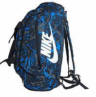 Вместительная сумка-рюкзак NIKE, универсальная, спортивно-походная, полиэстр