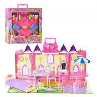 Замок, домик для кукол  мебель, жители, в коробке+ код  MMT-3139