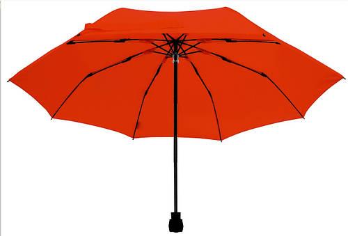 Женский эффектный механический складной зонт EuroSCHIRM Light Trek 30299027/SU17951 красный