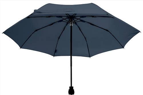 Качественный мужской механический складной зонт EuroSCHIRM Light Trek 30299050/SU17741 синий