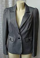 Пиджак жакет женский элегантный красивый офис бренд Bhs р.46 4428