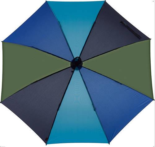 Мужской практичный механический складной зонт EuroSCHIRM Light Trek 3029-CW1/SU17951 синий
