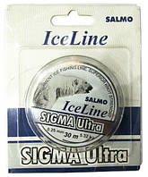 Леска моно зимняя Salmo SIGMA ULTRA 30м (4506)